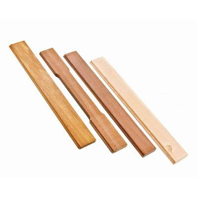 Houten planken voor boxen per m2, diverse houtsoorten
