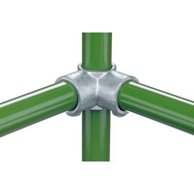 Key clamp hoekverbinder 90° doorlopend