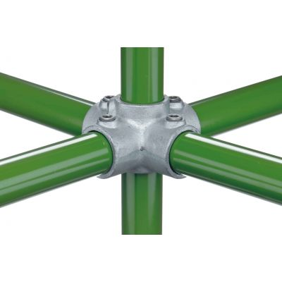 Key clamp kruisverbinder 90° met dubbele spruit