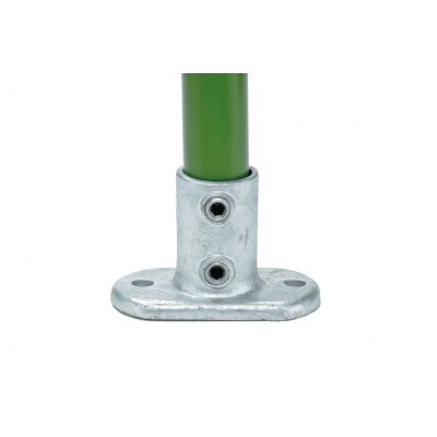 Key Clamp Voetplaat / muurbevestiging ovaal
