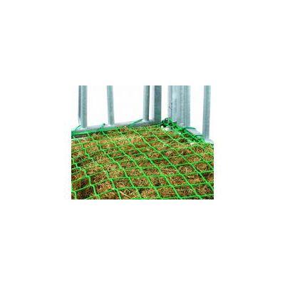 Slowfeeder hooinet 3,6 x 2,4 en 3,6 x 3.6 m voor weideruiven, voederrantsoennet