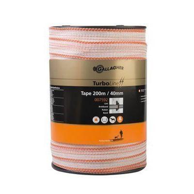 AANBIEDING TurboLine lint 40mm wit 200m