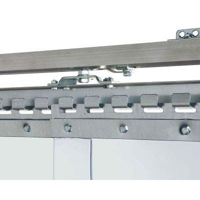 Schuifdeursysteem voor lamellen, C-rail