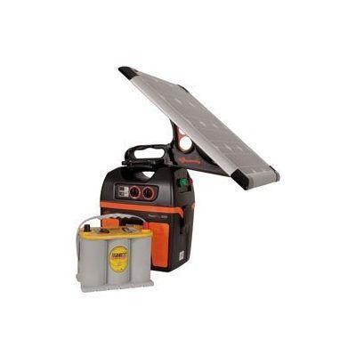 Gallagher S230 solar apparaat met zonnepaneel en accu