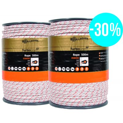 Duopack TurboLine cord wit 2 x 500m