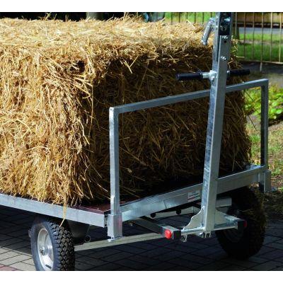 stro-rek voor handtransportwagen