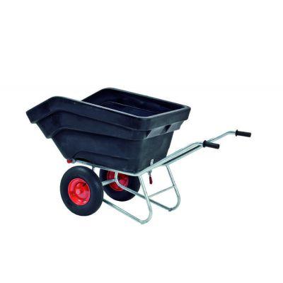Growi compact kiepkruiwagen 300 liter