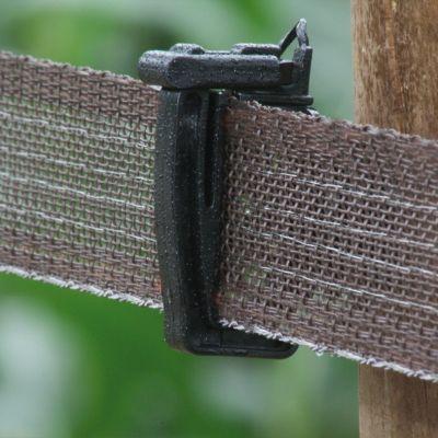 Koltec Standaard lint bruin 40 mm 200 mtr
