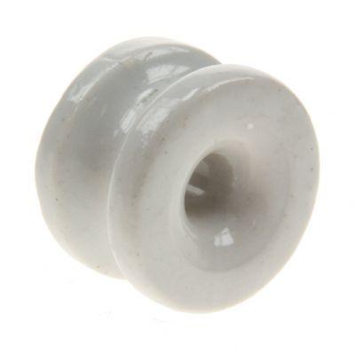 Hoekisolator porselein, 25 stuks