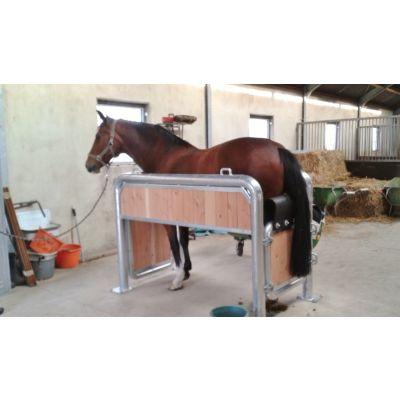 Growi behandelbox / opvoelbox voor paarden