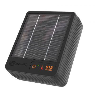 NIEUW Gallagher S12 solar schrikdraadapparaat