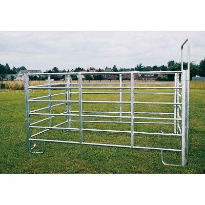Growi panelhek CL paard uitschuifbaar 240 - 400 cm
