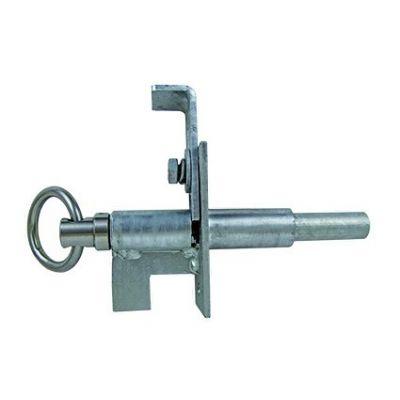 Veerbelaste veiligheidsgrendel voor CL poort