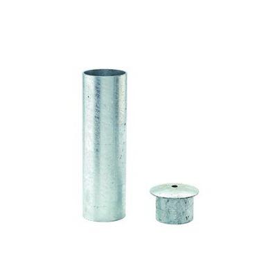 Inbouwhuls voor bevestiging paal doorsnede 76 mm