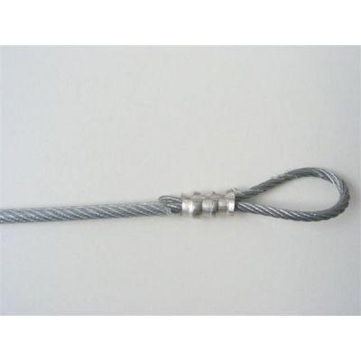 RVS kabel 4 mm per meter