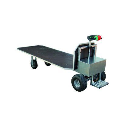 Transportwagen met accu aandrijving