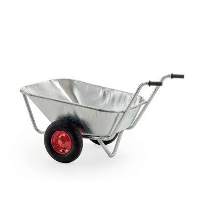 Growi tweewielige stalkruiwagen extra laag model, 200 liter
