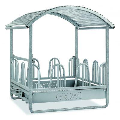 Growi hooiruif Comfort Line Plus 2 x 2 m met laag palisadenvoerhek