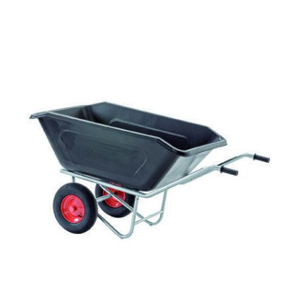 Growi compact kruiwagen 2-wielig 350 liter