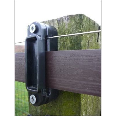Hippo Safety Fence band 100 meter bruin