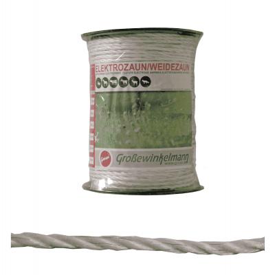Growi Varioline koord wit 6 mm 200 meter