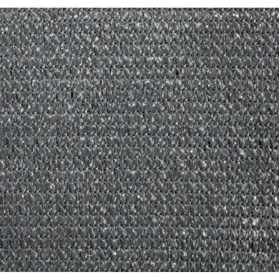 Windbreekgaas / schaduwdoek Pro Line HDPE donkergrijs