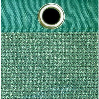 Windbreekgaas Pro Line groen polyester band en zeilogen