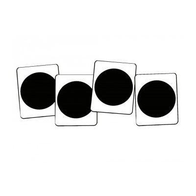 Kunststof dressuurletters, cirkel - stip voor een rijhal